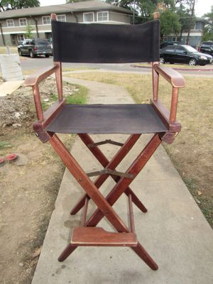 Bar height directors chair for Sale in Austin, TX