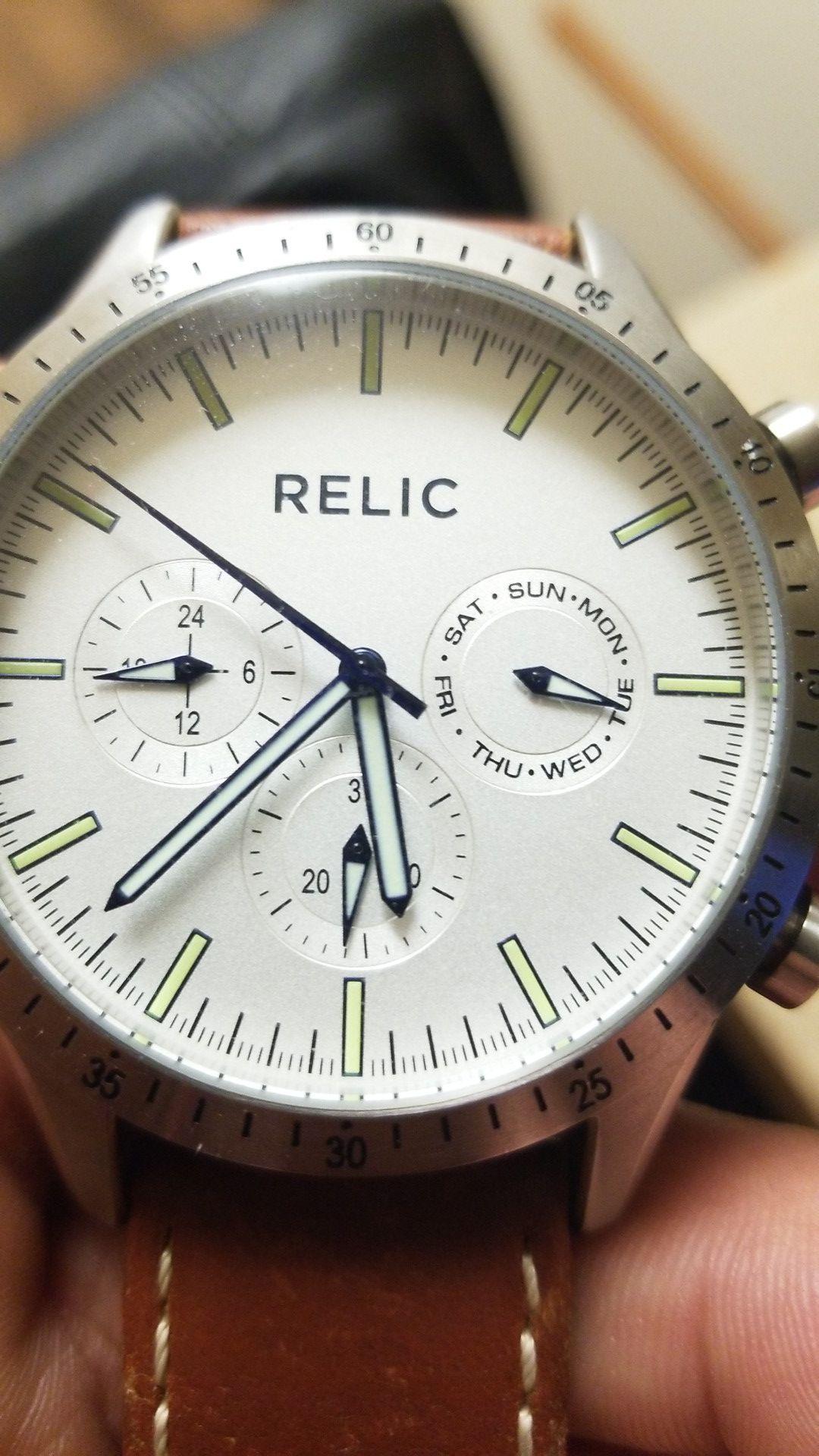 Relic wristwatch