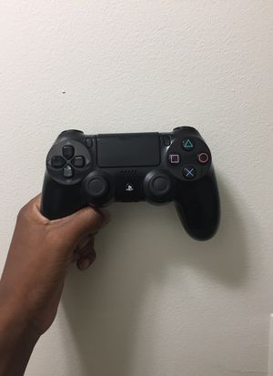 Sony PlayStation 4 DualShock Jet Black for Sale in Gaithersburg, MD