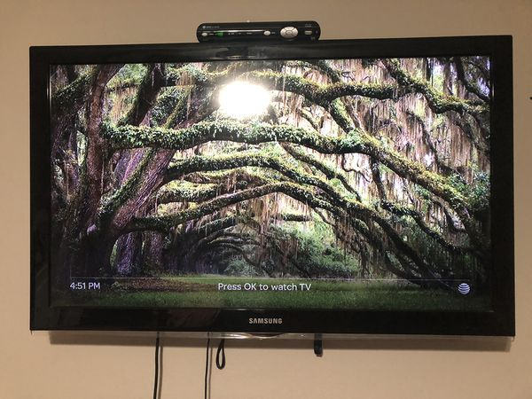 """Samsung 46"""" tv  Fully functional with no issues for Sale in Spring, TX -  OfferUp"""