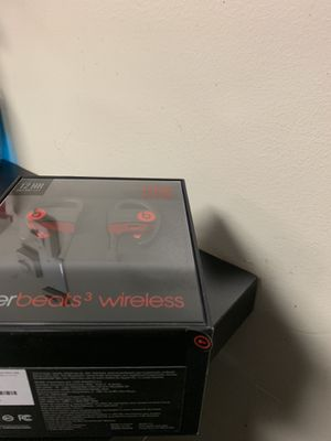 Power beats 3 wireless for Sale in New York, NY