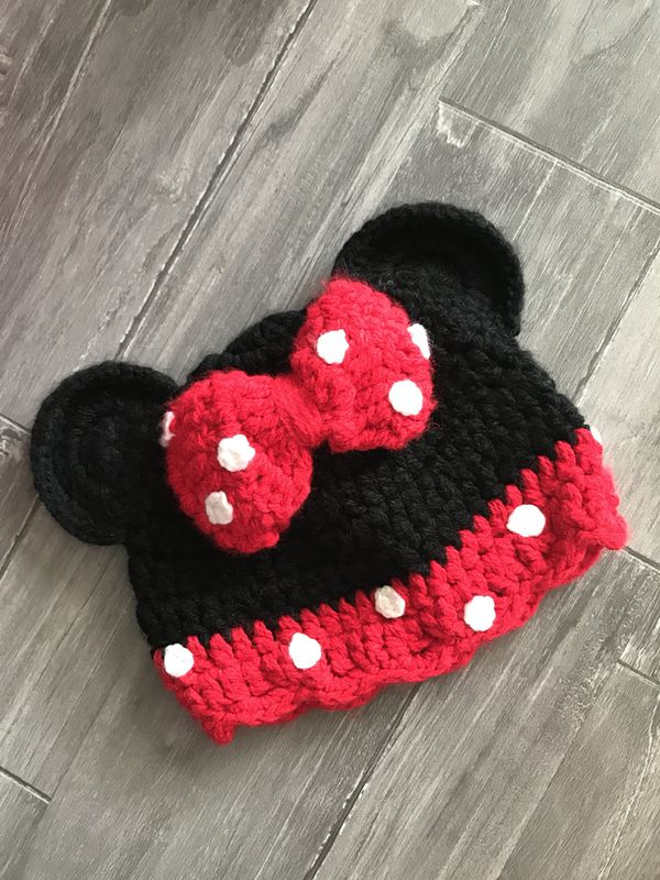 Minnie Mouse Knit Hat For Sale In Chino Ca Offerup