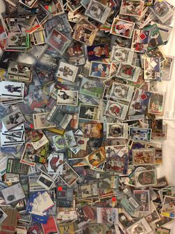 Sports card collection w/game used/autographs/rookies Thumbnail