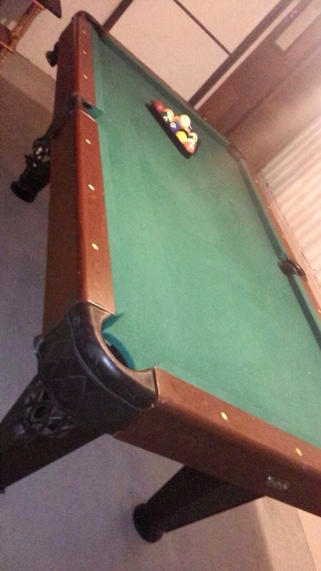 Sportcraft Pool Table Est For Sale In Davenport FL OfferUp - Sportcraft 1926 pool table