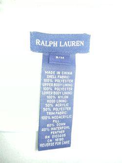 Ralph Lauren child's snowsuit Thumbnail