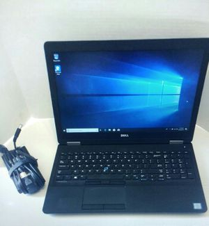 Dell Precision Laptop : Intel Core i7-6600HQ/16GB RAM/512GB SSD + AMD FirePro graphics for Sale in Rockville, MD