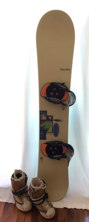 Burton Charger Snowboard, Step-in Bindings, and Boots for Sale in Miami, FL