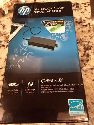 HP notebook smart power adapter for Sale in Tysons, VA
