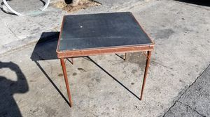 Mid century folding table for Sale in San Francisco, CA