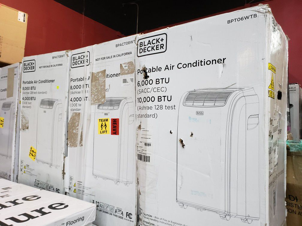 Aires Acondicionado Portatil.....8000 BTU nuevos En Caja