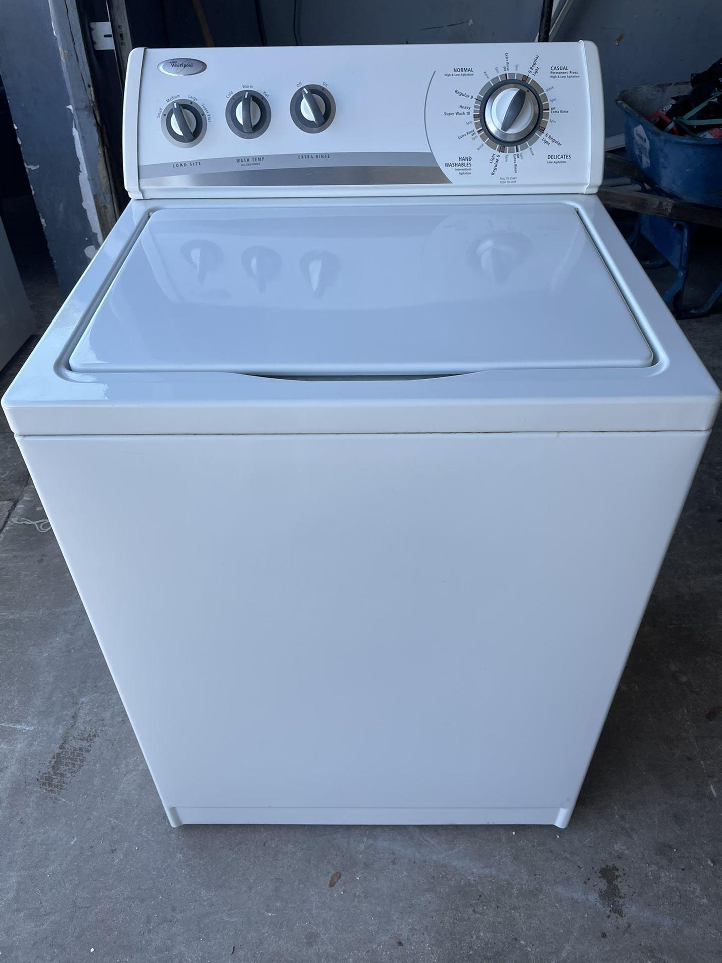 Whirlpool Washer Machine Everything Works Good ...