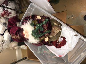 Christmas Santa clause for Sale in Fairfax Station, VA