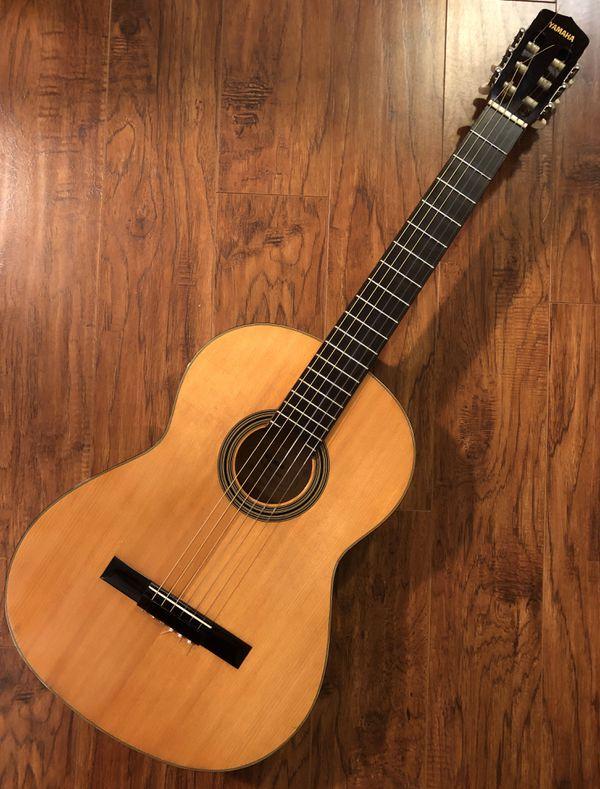 Guitar Cases Houston : vintage yamaha g 60 acoustic classical guitar case for sale in houston tx offerup ~ Russianpoet.info Haus und Dekorationen