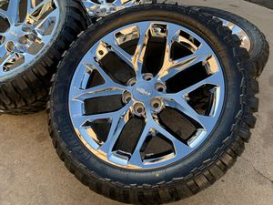 Photo 22 Chevy Silverado wheels tires rims Tahoe Suburban GMC Sierra Yukon