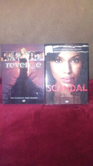 Scandal,Revenge,complete 1st season's for Sale in Boston, MA