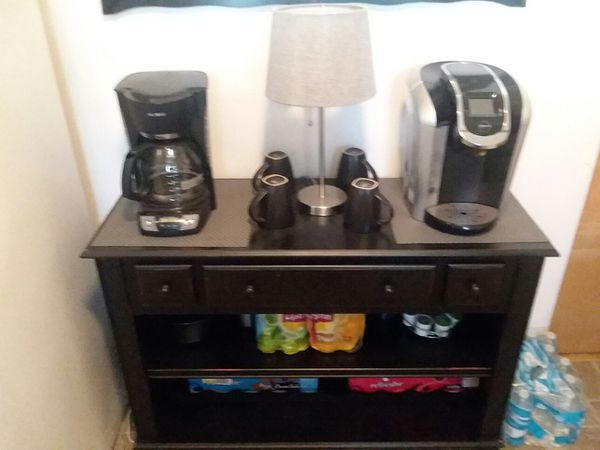 Coffee Stationwine Rack For Sale In Joliet IL OfferUp - Coffee station table for sale