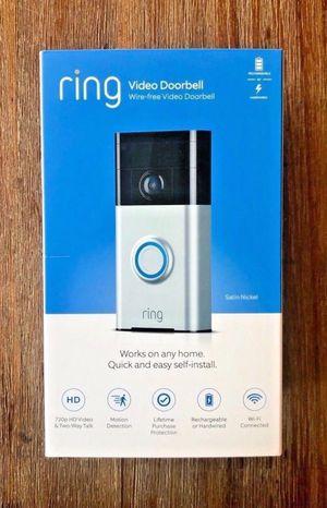 FREE Ring Doorbell Camera for Sale in Santa Fe Springs, CA