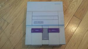 Super Nintendo snes console only for Sale in Denver, CO