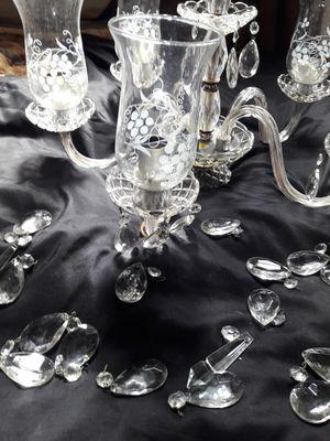 Antique Cristal Lamp for Sale in Miami, FL