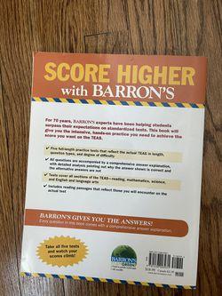 TEAS Practice Exam Textbook  Thumbnail
