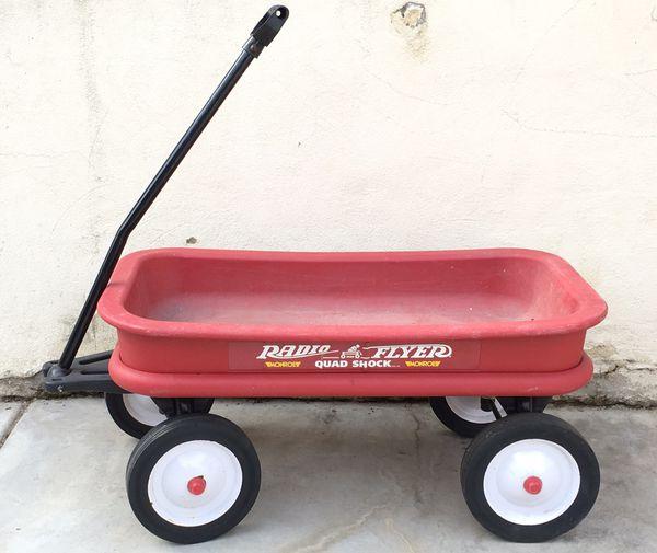 Radio Flyer Quad Shock Wagon For