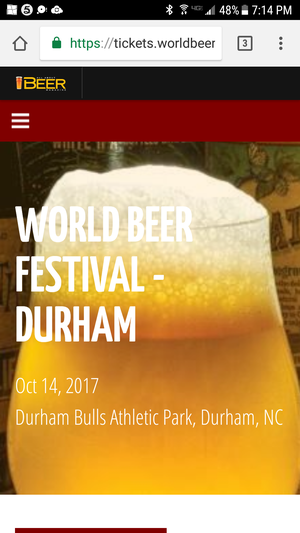Beerfest tickets have digital code for tickets won from radio show for Sale in Carrboro, NC