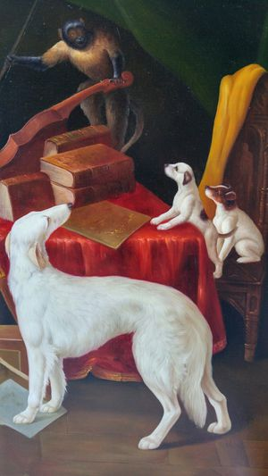 """The Recital. Original oil painting on canvas, image size 24""""x36"""". for Sale in McLean, VA"""