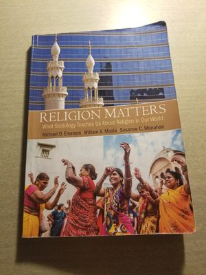 Religion Matters Sociology Book for Sale in Washington, DC