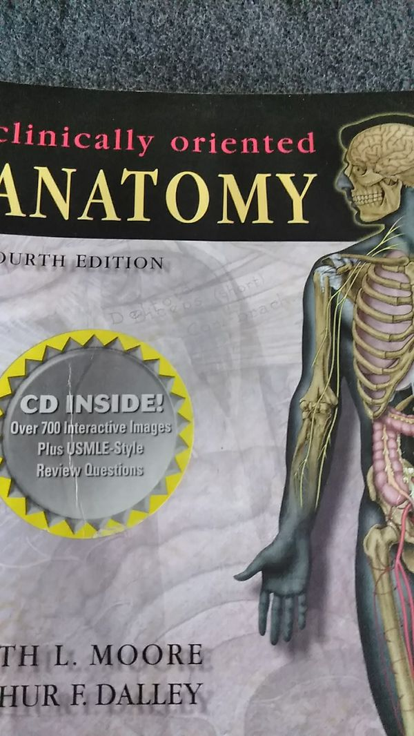 Clinically Oriented Anatomy For Sale In Shelton Ct Offerup