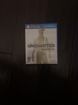 Uncharted 1,2,3 collection ps4 for Sale in Dallas, TX
