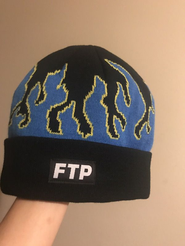 4a6117c66 Ftp flame beanie blue for Sale in Riverside, CA - OfferUp