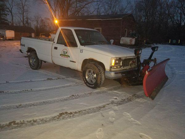 Snow Plow Truck For Sale In Wheeling Il Offerup