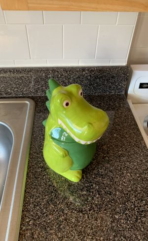 Green Dragon Cookie Jar for Sale in Washington, DC