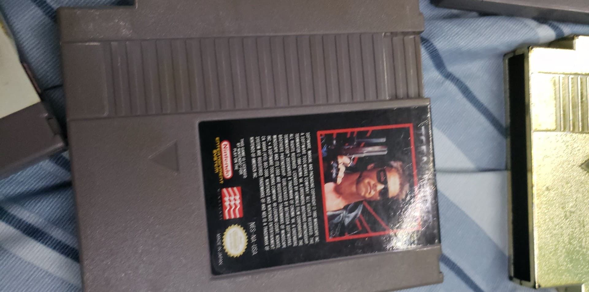 Original NES Nintendo And 10 games