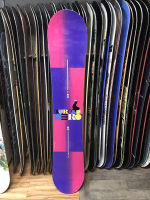 Burton rocker 155 snowboard with warranty for Sale in Las Vegas, NV