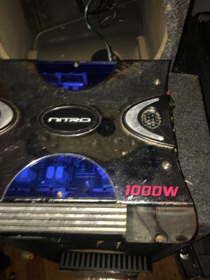 1000 watts 4 Chanel nitro for Sale in Boston, MA