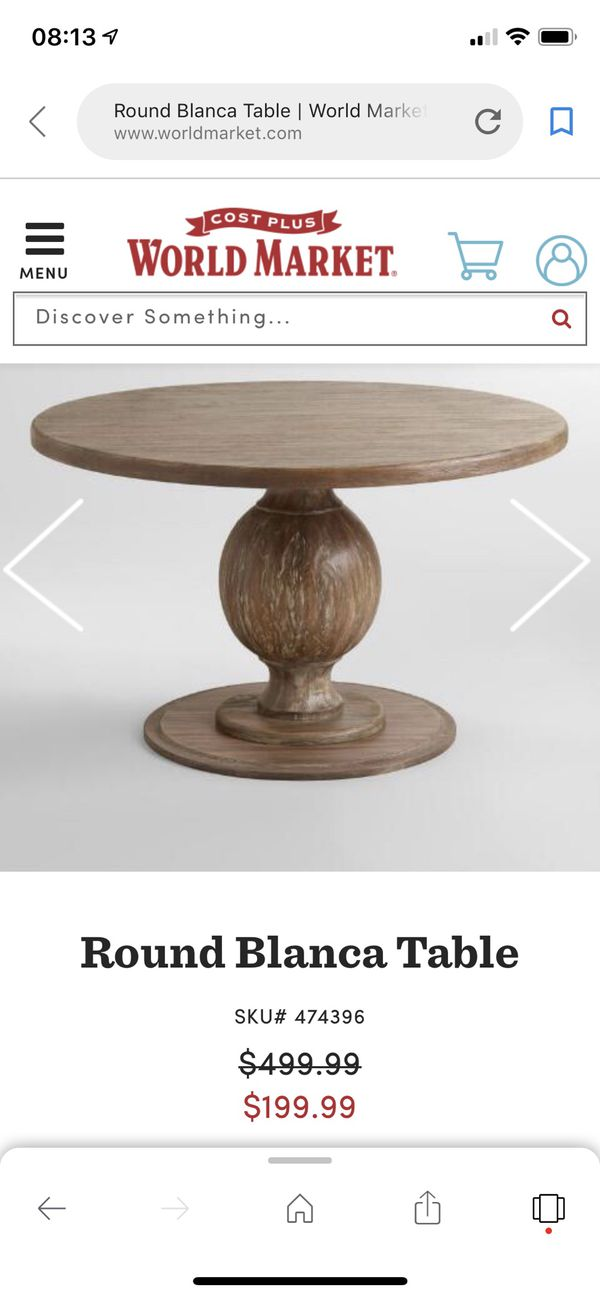 World Market Round Dining Table The Arts