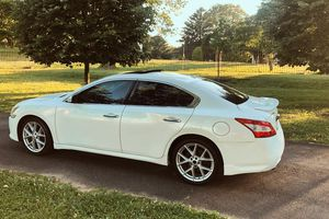Photo 2010 Nissan Maxima SV White Color