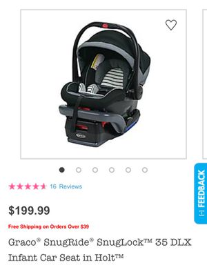 Graco baby car seat for Sale in Falls Church, VA