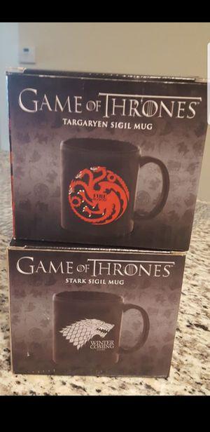 2 Game of Thrones Mugs. New for Sale in Fairfax, VA