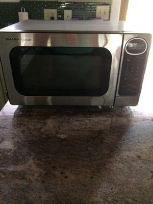 1100 Watt Stainless Microwave Oven