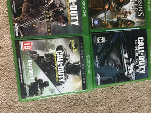 Used, X box one games for sale  Tulsa, OK