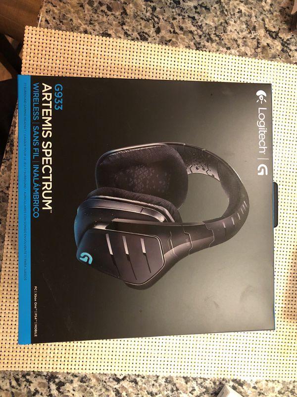 0b55e3f44df Logitech G933 Artemis Spectrum Gaming Headset for Sale in Mount ...