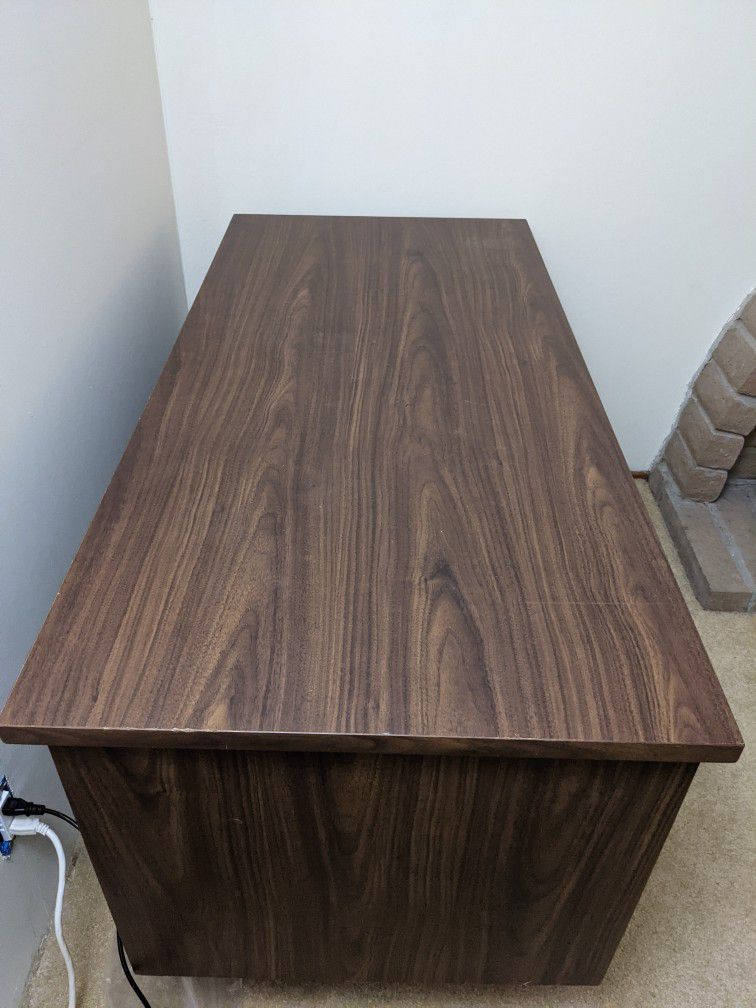 Credenza Computer Desk with drawers