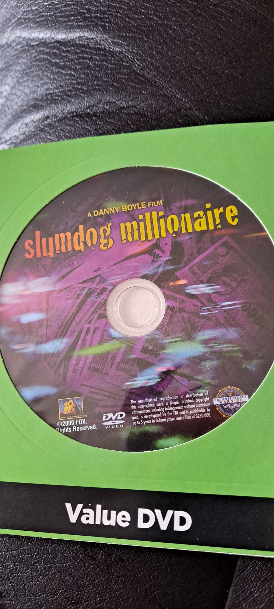 SLUM Dog Millionaire  Movie DVD