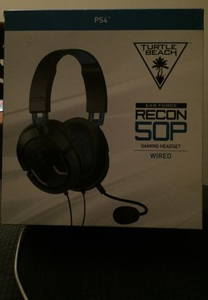 PS4 game headset for Sale in Washington, DC