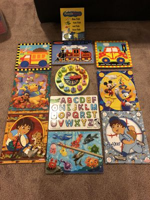 Kids puzzles - 11 assorted puzzles for Sale in Clarksburg, MD