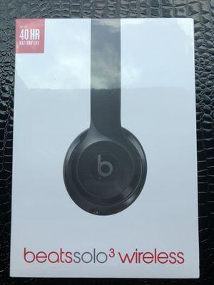 BeatsSolo3 (Black) Brand New Unopened for Sale in Atlanta, GA