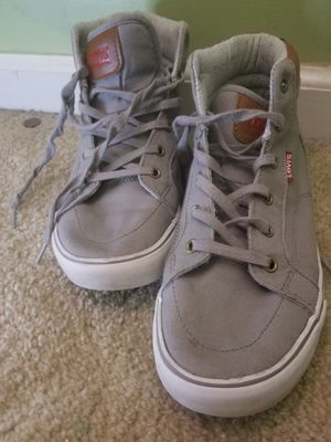 Levis Grey Shoes Size 5 for Sale in Manassas, VA