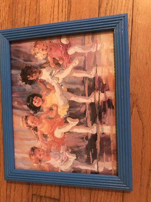 Child ballerina framed picture decor for Sale in Springfield, VA